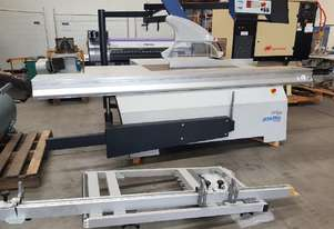 PANHANS PANEL SAW 3.5m ELECTRONIC RIP FENCE MADE IN GERMANY NEW *SOLD*. POP UP DOCKING SAW