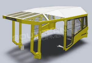 Heavy Duty CAT D6 Turtle Scrub Canopy DOZSWP
