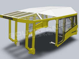 Heavy Duty D6 Turtle Scrub Canopy DOZSWP - picture0' - Click to enlarge