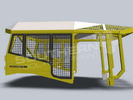 Heavy Duty D6 Turtle Scrub Canopy DOZSWP - picture1' - Click to enlarge