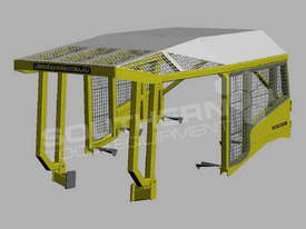Heavy Duty D6 Turtle Scrub Canopy DOZSWP - picture2' - Click to enlarge