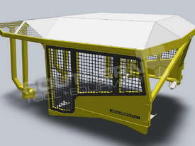 Heavy Duty D6 Turtle Scrub Canopy DOZSWP - picture3' - Click to enlarge
