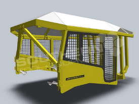 Heavy Duty D6 Turtle Scrub Canopy DOZSWP - picture4' - Click to enlarge