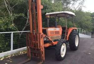 Kubota M4950DT 4 WD ROPS Tractor