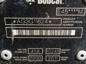 2011 Bobcat E45 Excavator - picture13' - Click to enlarge