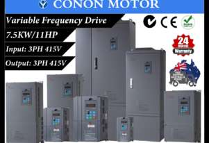 7.5KW/11HP 18A 415V AC 3 phase variable frequency drive inverter VSD VFD Lathe