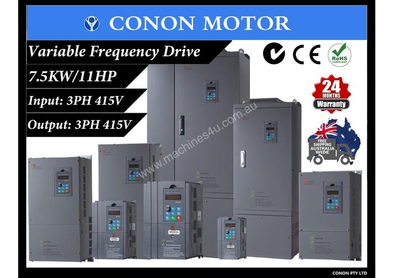 7 5KW 11HP 18A 415V AC 3 phase variable frequency drive inverter VSD VFD  Lathe