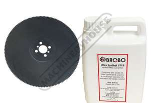 BC-315 HSS Cold Saw Blade & Coolant 2 Litre Synthetic Metal Cutting Fluid Ø315mm x 40mm Bore - 180T