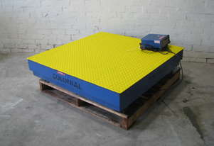 Platform Scales 1200 x 1200mm 1000kg - Gedge GS1550