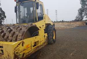 Bomag   padfoot roller