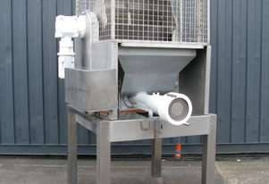 Commercial Paddle Mixer Feed Hopper and Extruder - 200L