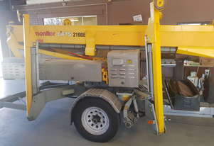 Omme Trailer Mounted Boom Lift
