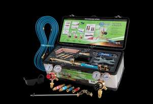 OXY / ACET Gas Welding Cutting Kit with FLASHBACKS