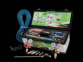 OXY / ACET Gas Welding Cutting Kit with FLASHBACKS - picture0' - Click to enlarge