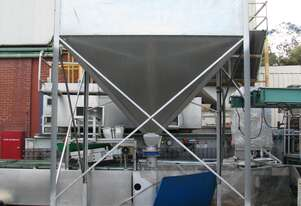 Large Industrial Silo Hopper Feeder - 6500L