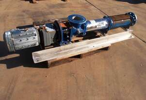 Helical Rotor Pump, IN/OUT: 125mm Dia