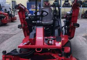 Toro Groundsmaster 4000D Turf Mower – Mowing in style