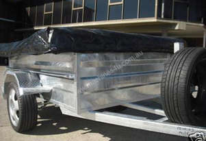 ON ROAD GALVANISED CAMPER TRAILERS (INCL. TENT)