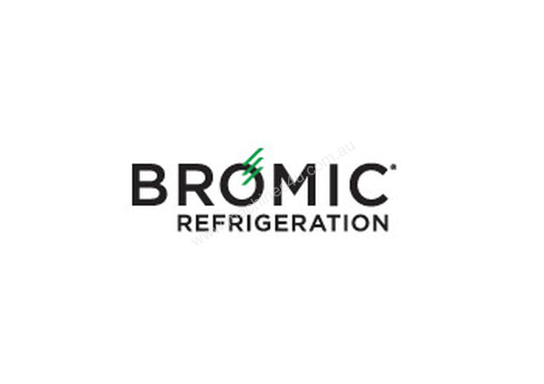 Bromic CT0080G4B Flat Glass 78L LED Countertop Beverage Chiller