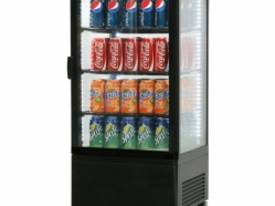 Bromic CT0080G4B Flat Glass 78L LED Countertop Beverage Chiller  - picture0' - Click to enlarge