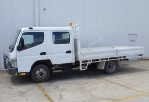 2006 Fuso Canter Dual Cab Tray