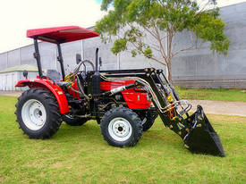 WHM 38HP 4WD Tractor with Front End Loader - picture1' - Click to enlarge