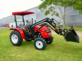 WHM 38HP 4WD Tractor with Front End Loader - picture0' - Click to enlarge