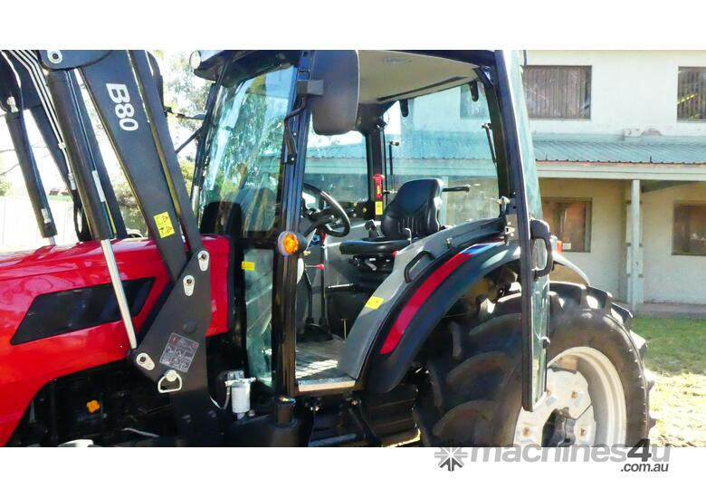 WHM 78HP 4WD Tractor with Front End Loader