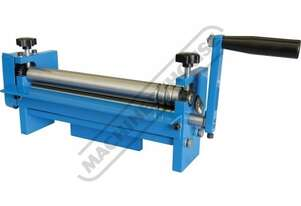 SRG-12 Manual Sheet Metal Curving Rolls-Bench Mount 305 x 1mm Mild Steel Capacity Includes Wiring Gr