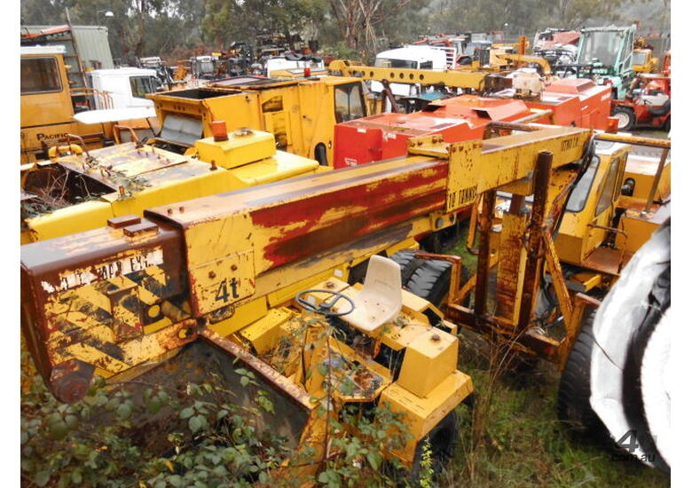 12ton asi/perry , auto , 2 stage boom,