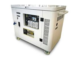 9KVA Petrol Portable Generator Silenced Canopy - Inverter Technology - 2 Years Warranty - picture0' - Click to enlarge