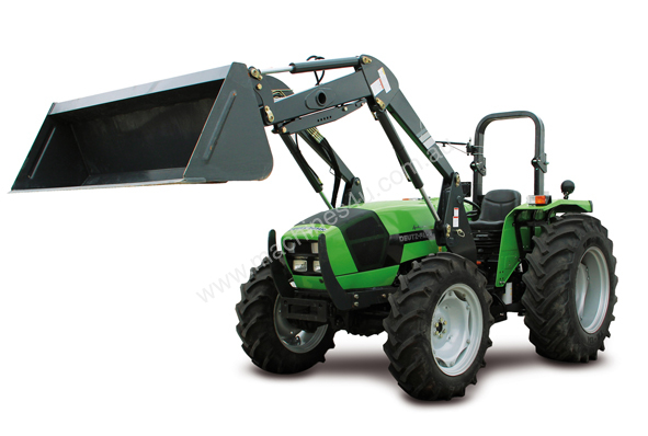 New 2014 Deutz Fahr AGROLUX 4.75 AGROLUX 4.80 Tractor With Front End ...