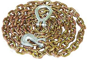 DRAG CHAIN 10MM X 7 METRE WITH RING/HOOK