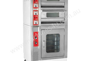 F.E.D. KL-2/3N Compact Infrared Double Deck Oven with Proover