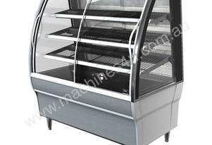 FPG 4H08-CU-FF 4000 Series Heated Fixed Front Food Cabinet - 800mm
