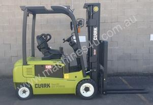 2 Tonne Electric Forklift FOR HIRE Clark GEX20S