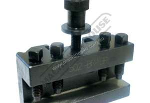 502-BRBP Quick Change Toolpost Holder - Std 202mm  Centre Height Suits Model BRBP Toolpost