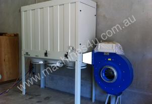 DUST COLLECTOR WOOD 415V 7.5HP FILTER TOP/ 3 BOTTOM PLASTIC BAG SILENCED VERSION W/ELECTRIC PANE 10H