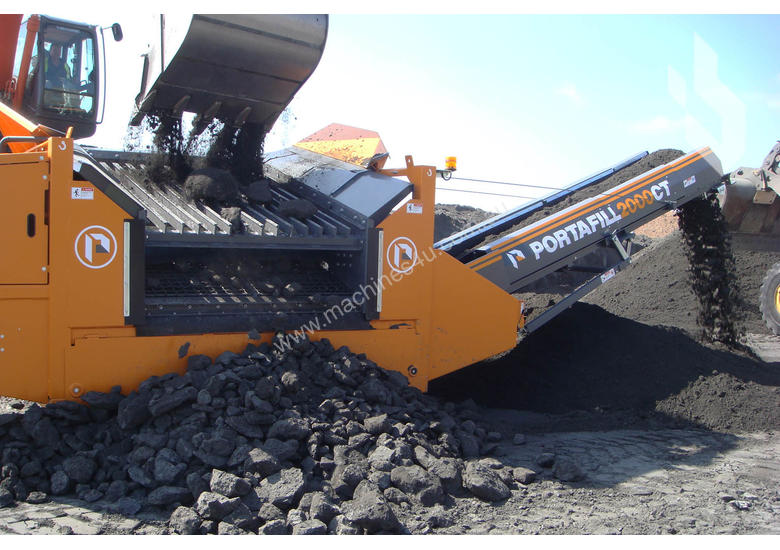 New 2015 portafill 2000CT Mobile Crushing Plant in