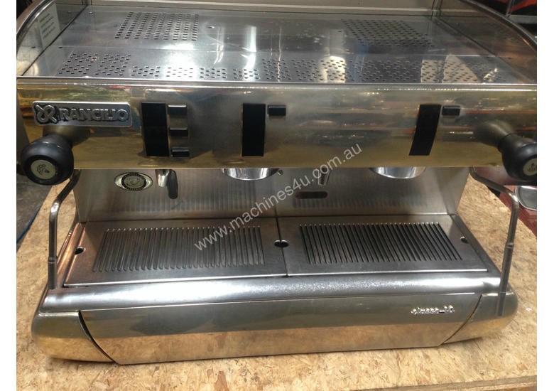 rancilio espresso machine used