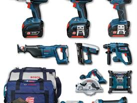 10PC 0.615.990.GT5 BOSCH POWER TOOL KIT