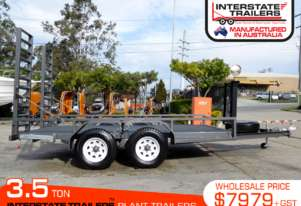 3.5 TON Plant Trailer suit Bobcat loaders ATTPT