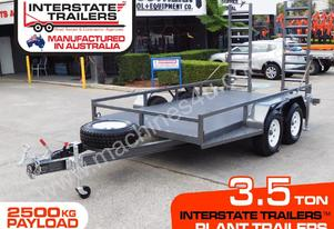 3.5 TON PLANT EXCAVATOR TRAILERS - 2500KG Payload