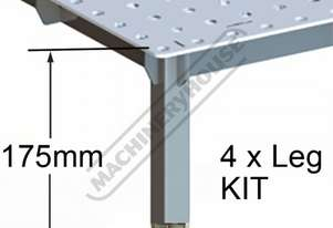 LK-S CertiFlat PRO Series - Short Leg Kit Suits Pro Series Welding Table Tops 175mm Table Height