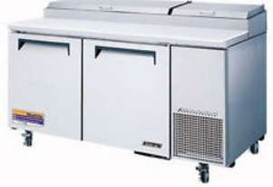 iLab iG160 2 Door Refrigerated Pizza Prep Counter