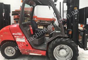 Used Manitou MSI30 all terrain forklift