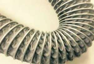 High Temp Flexible Ducting - Suction Hose for Foundries