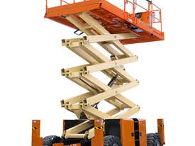 JLG 430LRT Engine Powered Scissor Lifts - picture2' - Click to enlarge