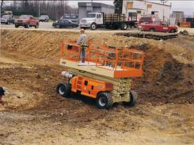 JLG 430LRT Engine Powered Scissor Lifts - picture10' - Click to enlarge