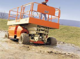 JLG 430LRT Engine Powered Scissor Lifts - picture16' - Click to enlarge